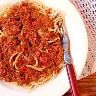Make a Bolognese Sauce