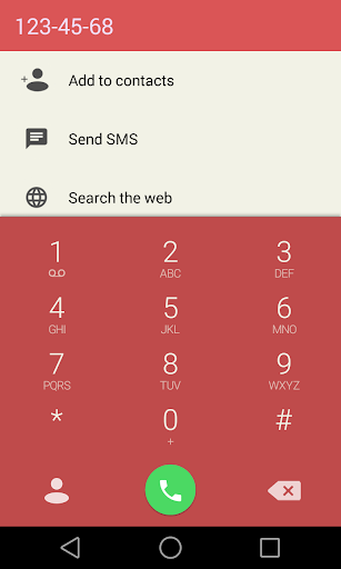 Red Theme for ExDialer