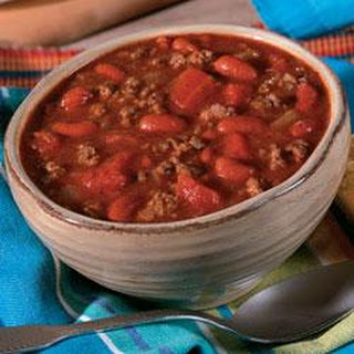 Campbell's® Slow Cooker Hearty Beef and Bean Chili.