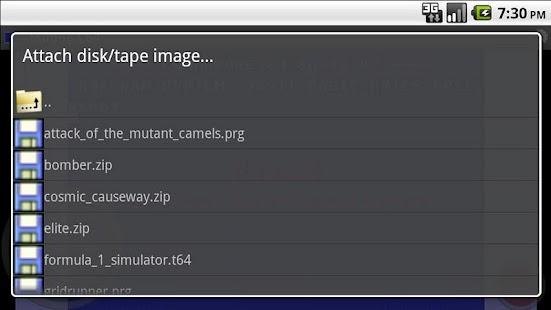 Mobile C64- screenshot thumbnail