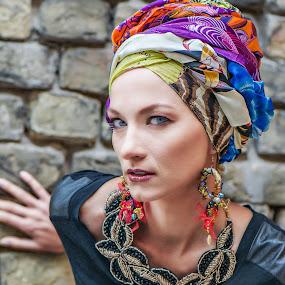 Ethnic by Evita Ewii - People Portraits of Women ( ethnic, makeup, women )