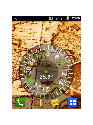 Cool Compass Live Wallpaper