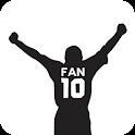 Fan 10 - Soccer football icon