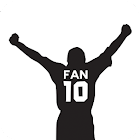 Fan 10 - Soccer football icon