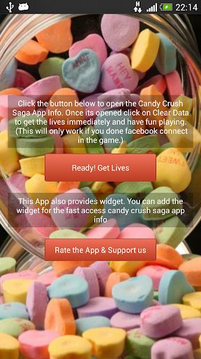Candy cheats Lives