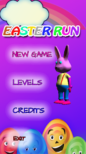 Bunny Run game - Easter Run- screenshot thumbnail