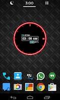 Screenshot of Neon Clock Widget [Free]