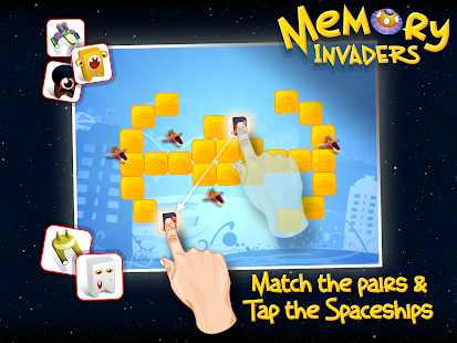 Memory Invaders FREE - screenshot thumbnail
