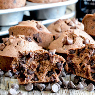 Double Chocolate Guinness Muffins