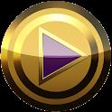 poweramp 皮膚パープル icon
