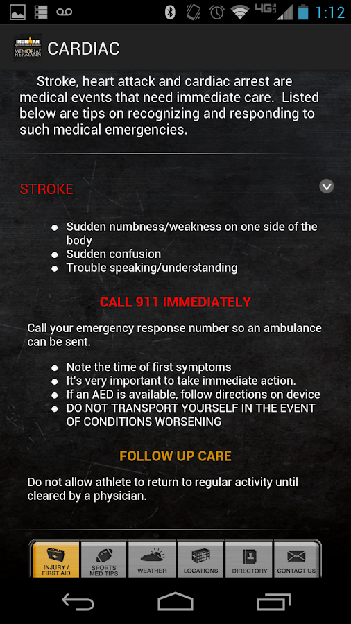IRONMAN Sports Medicine - screenshot