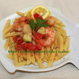 Best Scampi Mediterranean Pasta