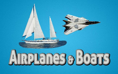 Airplanes & Boats Vehicle App!- screenshot thumbnail