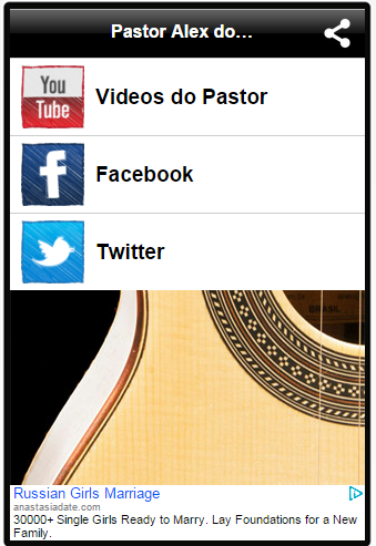 Pastor Alex do Cavaquinho