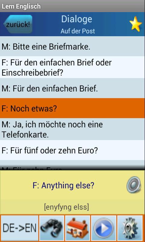 Englisch Lernen und Sprechen- screenshot