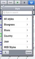 Screenshot of Band-in-a-Box