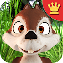 Talking James Squirrel AdFree icon