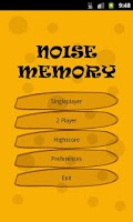 Screenshot of Noise Memory Free