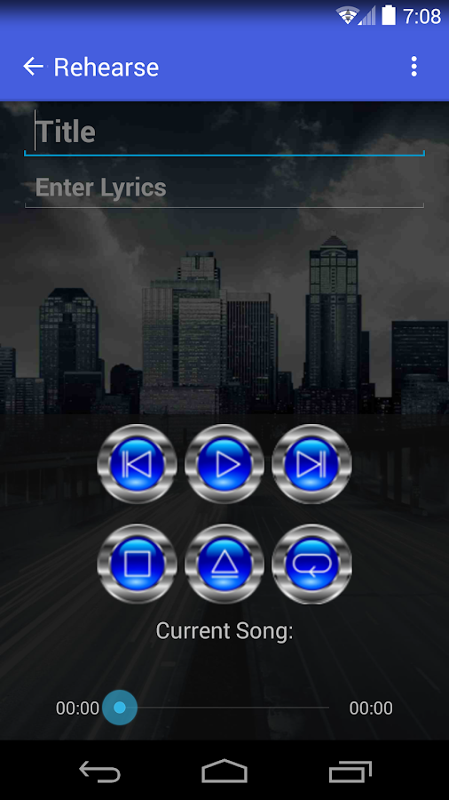 RoadWriter for Songwriting - screenshot