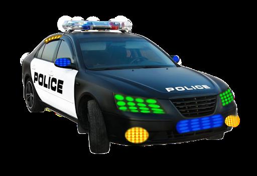 Police Light Simulatör