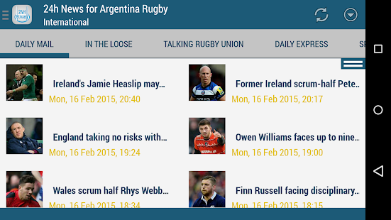 Argentina Rugby 24h- screenshot thumbnail