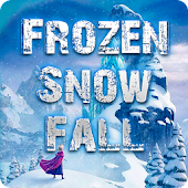Frozen Snow Fall Wallpaper