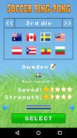 Screenshot of Soccer Ping-Pong