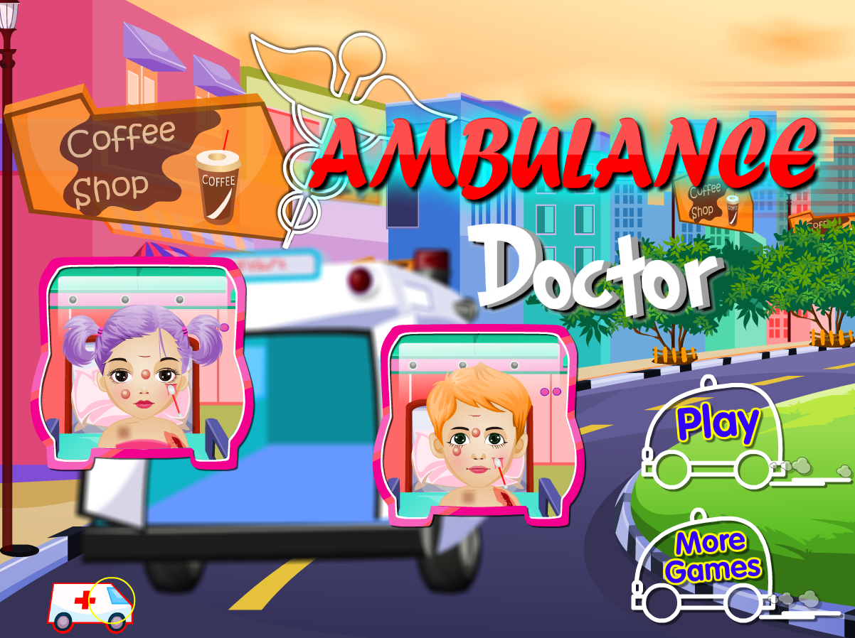 Ambulance Baby Doctor- screenshot