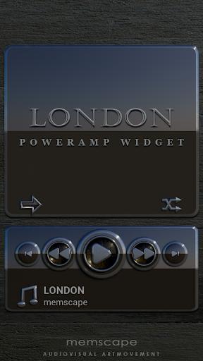 Poweramp Widget LONDON