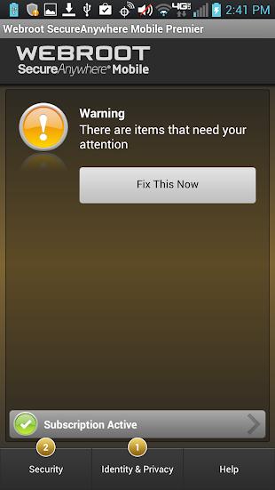 Security - Premier- screenshot