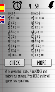 10 minutes with times tables- screenshot thumbnail
