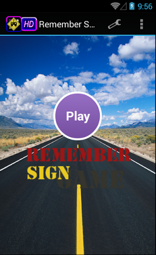 Remember Sign Game