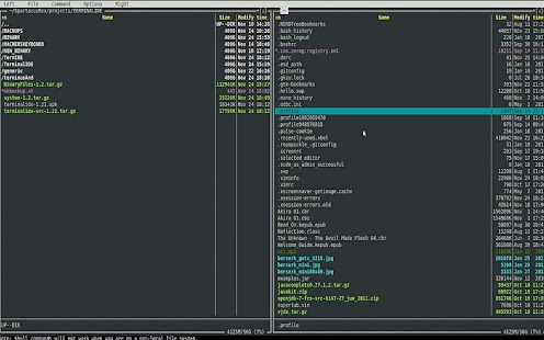 Terminal IDE- screenshot thumbnail