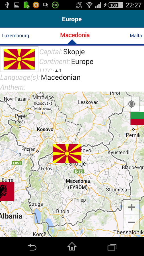 Learn Macedonian -50 languages- screenshot