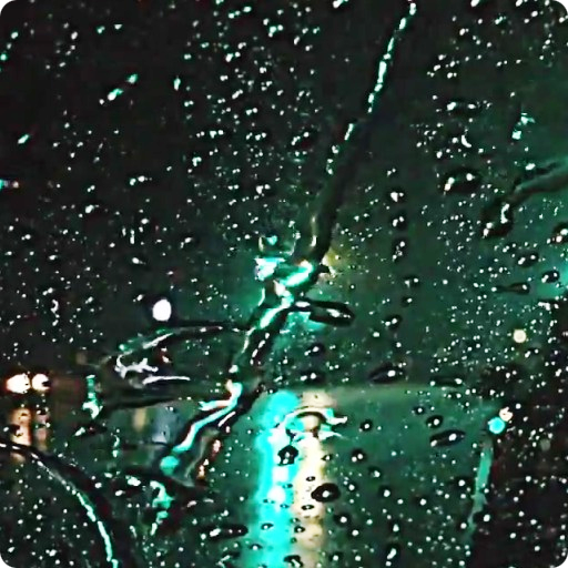 Rain Drops Live Wallpaper HD