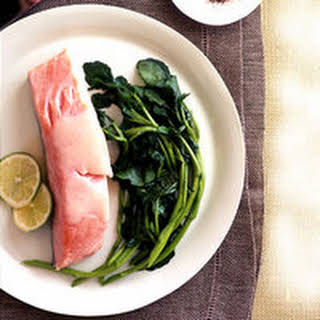 Coconut-Poached Salmon.
