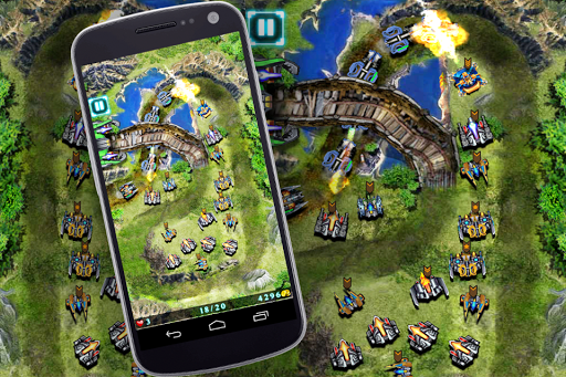 Galaxy Defense (Tower Game)