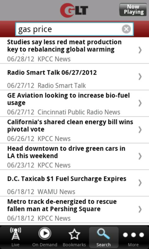 WGLT Public Radio App - screenshot