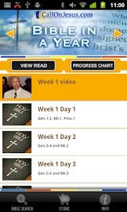 Bible In A Year- screenshot thumbnail