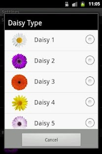 Daisy Live Wallpaper FREE - screenshot thumbnail