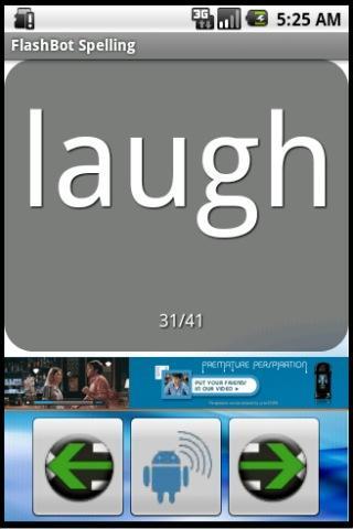 FlashBot Sight Words- screenshot