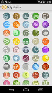 Octy - Icon Pack - screenshot thumbnail