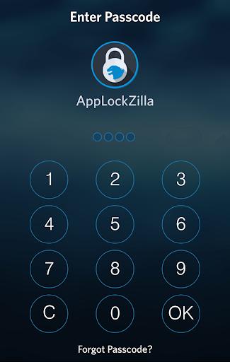 AppLock Zilla: iOS 8 Theme
