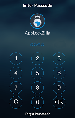 AppLock Zilla: iOS 8 Theme - screenshot