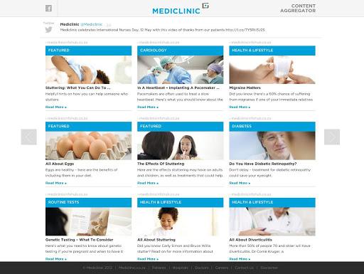 Mediclinic SA - News Feed