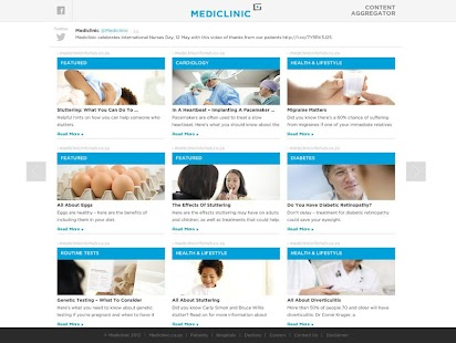 Mediclinic SA - News Feed