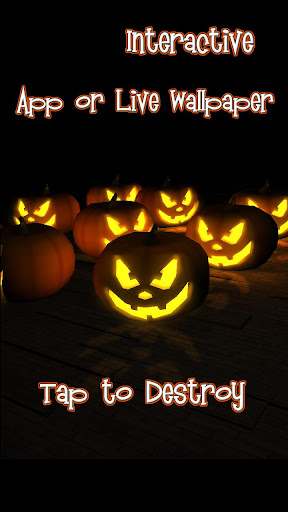 Creepy Pumpkin Live Wallpaper