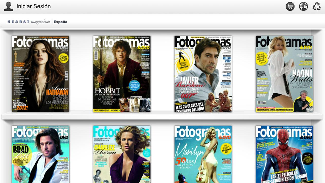 FOTOGRAMAS Revista - screenshot