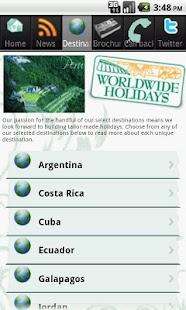 Worldwide Holidays- screenshot thumbnail