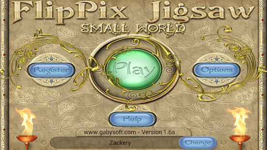 FlipPix Jigsaw - Small World- screenshot thumbnail